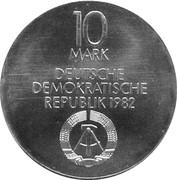 10 Mark (nouveau Gewandhaus de Leipzig) -  avers