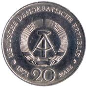 20 marks Heinrich Mann -  avers