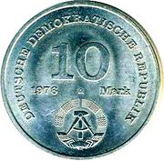 10 marks Armée (soldat) -  avers