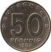 50 pfennig -  revers