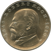 5 marks Robert Koch – revers