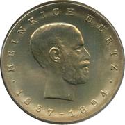 5 marks Heinrich Hertz – revers