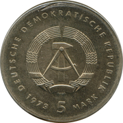 5 Mark Otto Lilienthal – avers