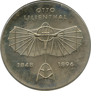 5 Mark Otto Lilienthal – revers
