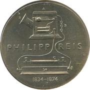 5 marks Philipp Reis – revers