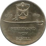 5 mark Ferdinand von Schill – revers
