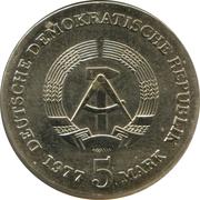 5 mark (Friedrich Ludwig Jahn) – avers