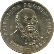 5 mark (Friedrich Ludwig Jahn) – revers