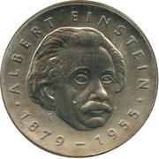 5 Mark (Albert Einstein) – revers