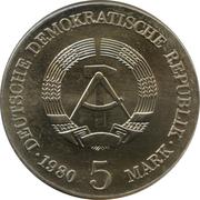 5 Mark (Adolph von Menzel) – avers