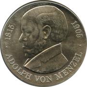 5 Mark (Adolph von Menzel) – revers
