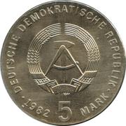 5 Mark (Friedrich Froebel) – avers