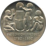 5 Mark (Friedrich Froebel) – revers