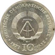 10 Mark (Heinrich Heine) – avers