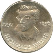10 Mark (Heinrich Heine) – revers