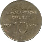 10 marks RDA -  avers
