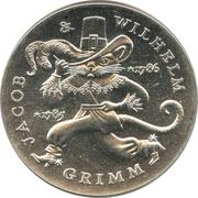 20 Mark (Jacob & Wilhelm Grimm) – revers