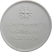 Medal - Schiffahrts-museum Rostock – avers