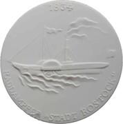 Medal - Schiffahrts-museum Rostock – revers