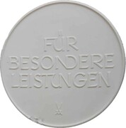 Medal - For special services (Bernau) – revers