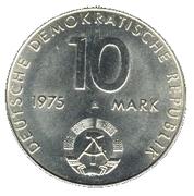 10 marks Pacte de Varsovie -  avers