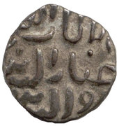 ½ Tanka - Ghiyath al-Din Tughluq II (Ah 720-725) – avers