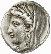 Stater (Delphi) – avers