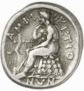 Stater (Delphi) – revers