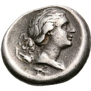 Hemidrachm (Demetrias) – revers