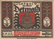 50 Pfennig (Detmold) – avers
