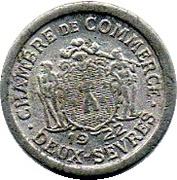 5 centimes - Chambre de commerce - Deux-Sèvres [79] – avers