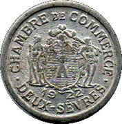 10 centimes - Chambre de Commerce - Deux-Sèvres [79] – avers