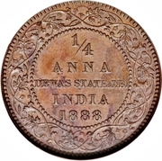 ¼ Anna - Victoria [Narayan Rao] – revers