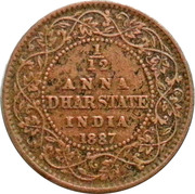 1/12 Anna - Victoria (Anand Rao Pawar III) – revers