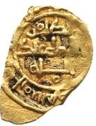 Fractional Dinar - al-Zahir Isma'il (Dhu'l-nunid of Toledo) – revers