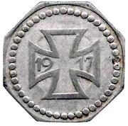 50 pfennig - Diedenhofen (Thionville (57)) – revers