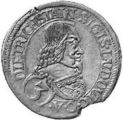 3 kreuzer Sigismund Ludwig – avers