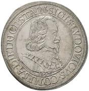 1 thaler Sigismund Ludwig – avers