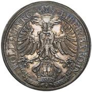 1 thaler Sigismund Ludwig – revers