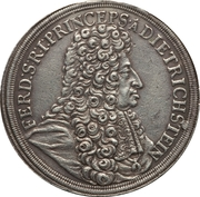 1 thaler Ferdinand Josef – avers