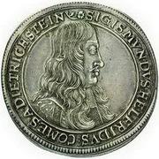 1 thaler - Sigismund Helfried – avers