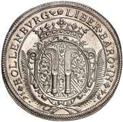 1 thaler Sigismund Helfried – revers