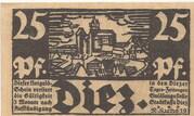 25 Pfennig (Donauwörth) – avers