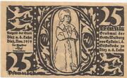 25 Pfennig (Donauwörth) – revers