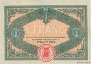 1 franc - Chambre de Commerce de Dijon [21] – revers