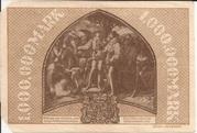 1,000,000 Mark (Dillenburg) – revers
