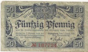 50 Pfennig (Dillenburg) – avers