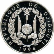 100 francs (Frégate) – avers