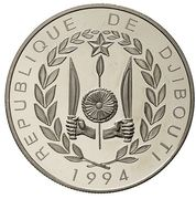 100 francs (Coupe du monde de football USA 1994) – avers