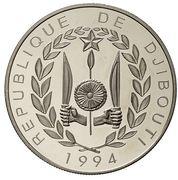 100 Francs (Coupe du monde de football USA 1994) – avers